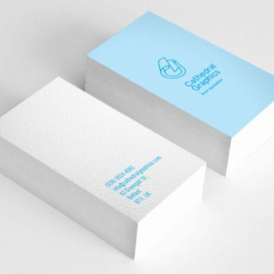 BUSINESS CARDS - LITHO