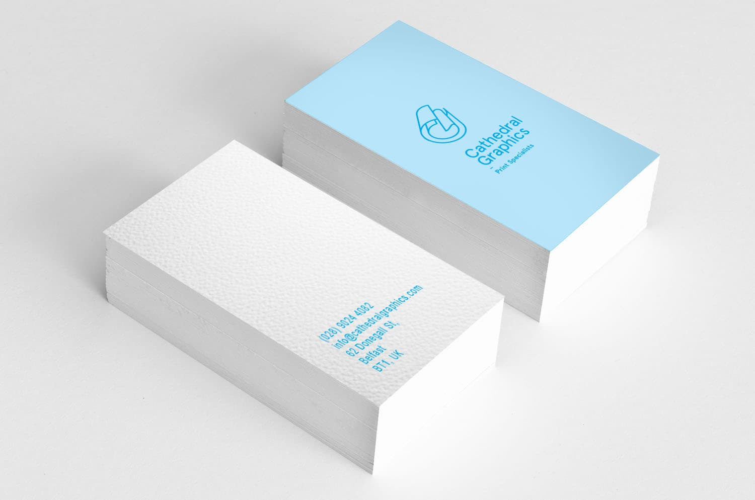 Business Cards - Basic quality (2,000+) - Cathedral Graphics
